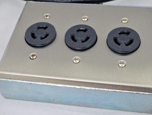 200V用電源タップ